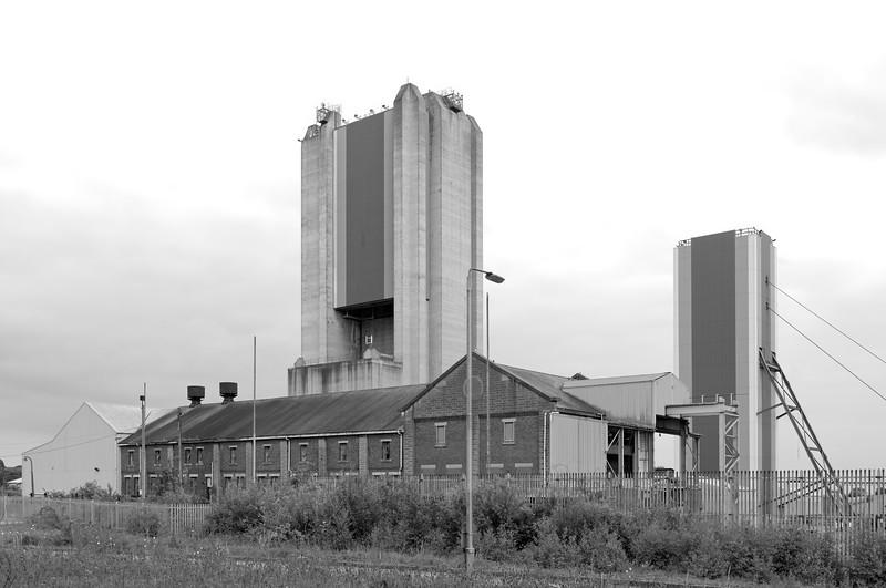 Harworth Colliery, Nottinghamshire.