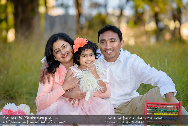 Nayomie and Rowan Family Shoot