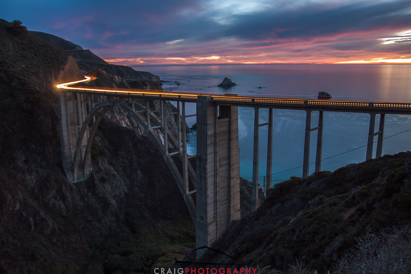 Bixby Creek Bridge, Hwy 1, Monterey County, CA #2