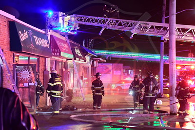 North Massapequa F.D.  Building Fire   Broadway  9/11/20