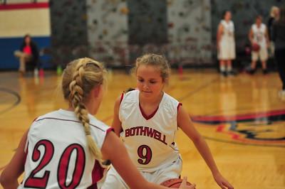 Bothwell 7th grade Vs. Aspen Ridge Basketball 2018