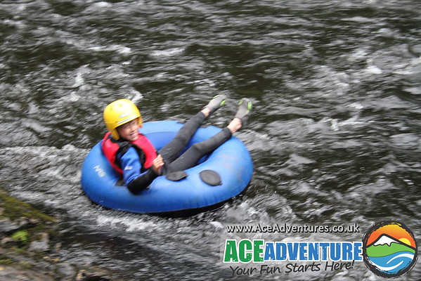 2nd August 2013 River Tubing & Cliff Jumping at Randolph's Leap, Nr Aviemore