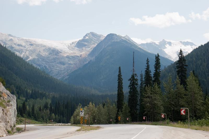 Trans-Canada Highway in Glacier