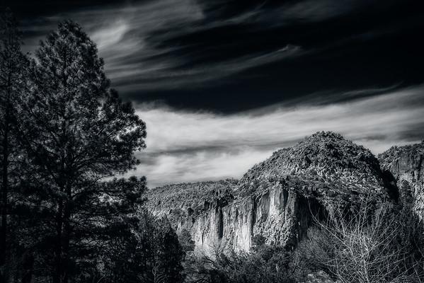 A reinterpretation:  A slice of New Mexico