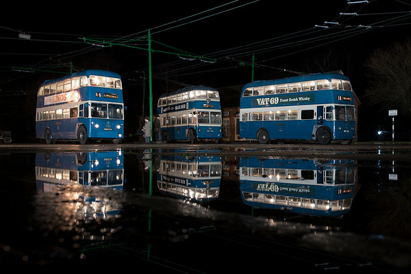 Timelines Bradford Trollybus Shoot  - Sandtoft - March 2018
