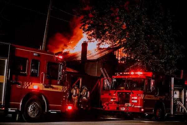 September 2, 2019 - 4th Alarm - 11 Atlamont Rd.