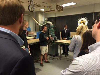 Congressional Staffer Campus Visit