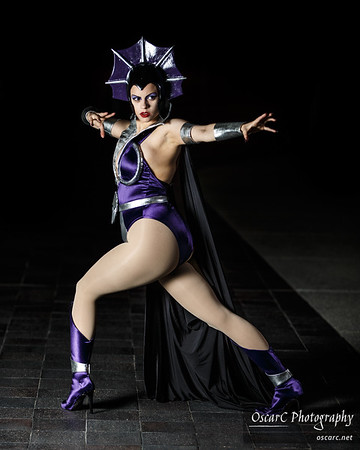 Evil Lyn (Faye Lynn) from He Man and the Masters of the Universe