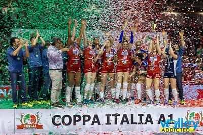 Premiazioni Coppa Italia A1F
