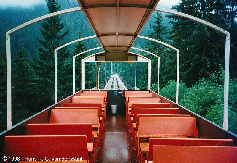 RhB, Chur to Arosa, 26-08-1996