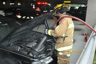 07/15/2014  Hospital parking deck incident