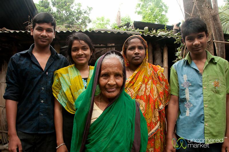 Hometay Family in Hatiandha, Bangladesh