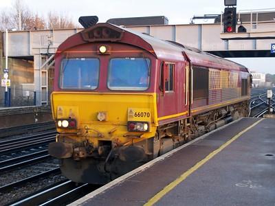 Eastleigh Station & Southampton Maritme    08/01/09