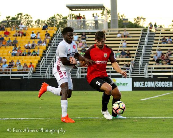 Charleston Battery vs Richmond Kickers Hometown Heroes Night