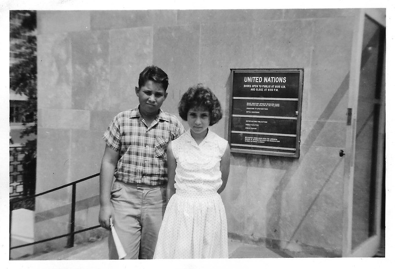 Ellis Mirsky and Phyllis Jayne Mirsky, ca. 1959