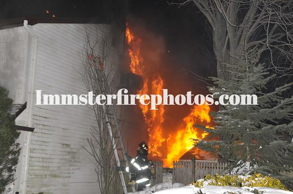 LEVITTOWN FD FORESTER LANE HOUSE FIRE 5:57 AM