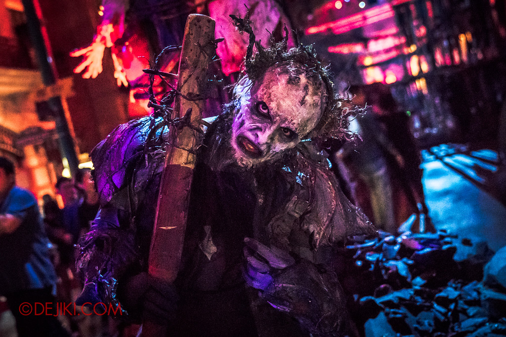 Halloween Horror Nights 7 - Pilgrimage of Sin / Malice Keeper