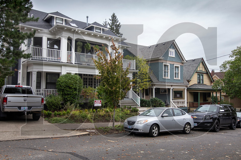 Some areas of Portland, including parts of the Alphabet Historic District, would undergo zoning revisions as part of the Better Housing by Design plan. (Sam Tenney/DJC)