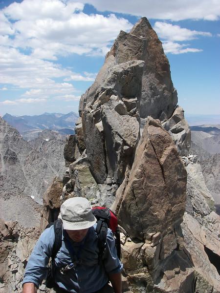 Thunderbolt Peak - North summit