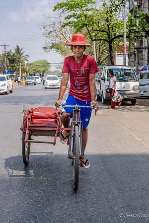 Yangon (formerly Rangoon), Myanmar