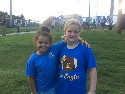 3rd Grade Night at the Football Game