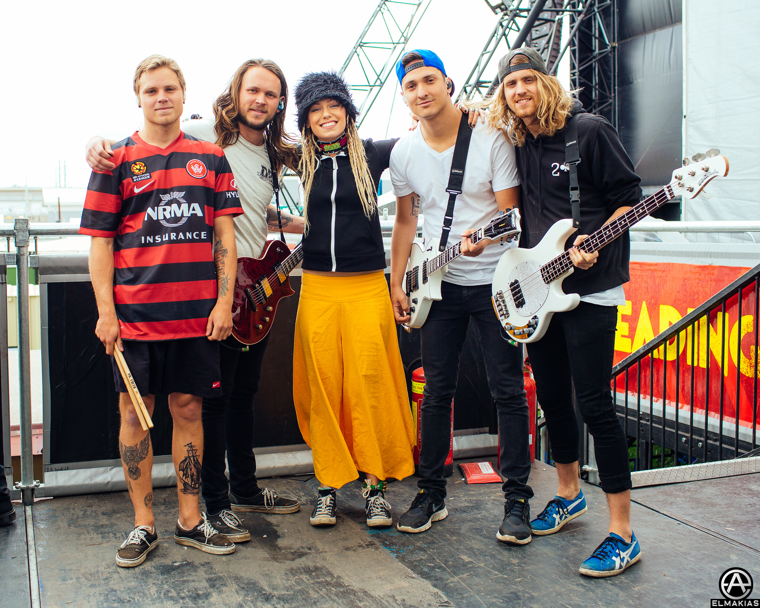 Tonight Alive at Reading Festival