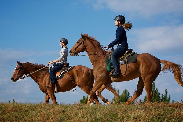 Jenny - Trail Riding