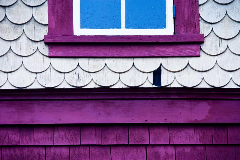 Window, Winchester Mystery House, California, 2009