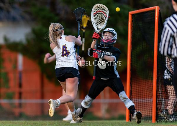 Broughton girls varsity lacrosse vs Middle Creek. February 28, 2020. D4S_0686