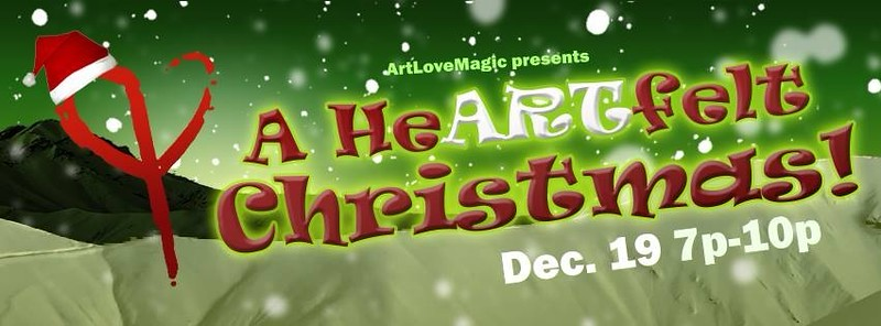 ArtLoveMagic : A HeARTfelt Christmas event 12/19/14