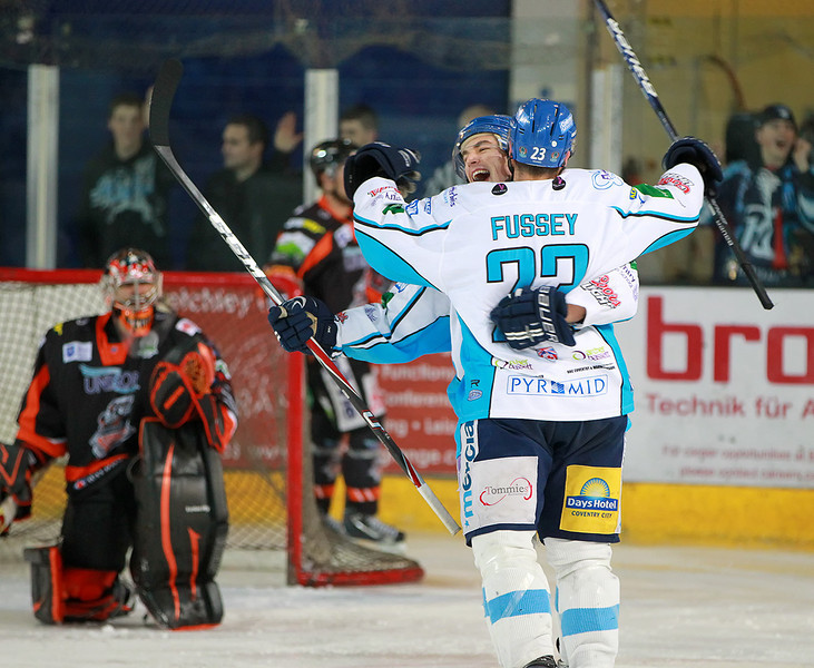 Blaze v Sheffield Steelers - 12/02/2012