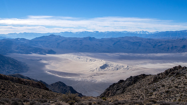Sandy Point - Last Chance Mtns - Death Valley 1.19.14