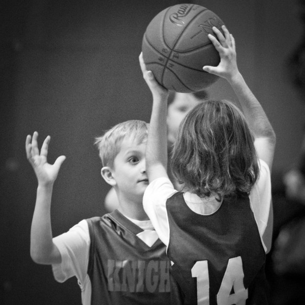 Second Grade Basketball 1-22-2011