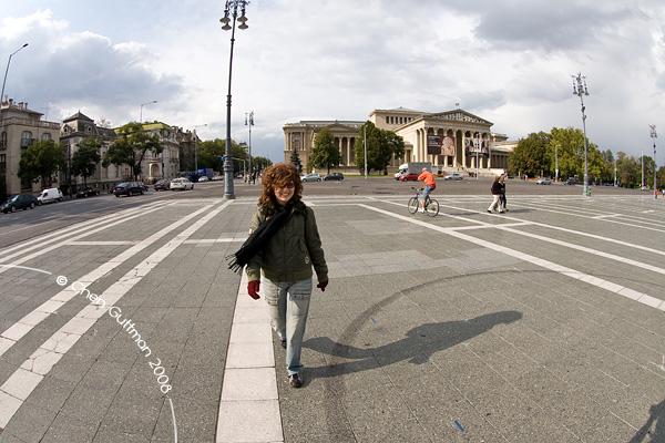 Moran in Millennium square