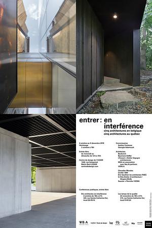 ENTRER: EN INTERFÉRENCE _ Photos des projets