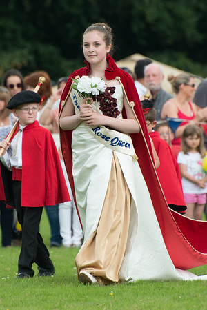 Thelwall Rose Queen 2014