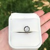 .97ct Late Victorian Antique Cushion Cut Collet Component 2