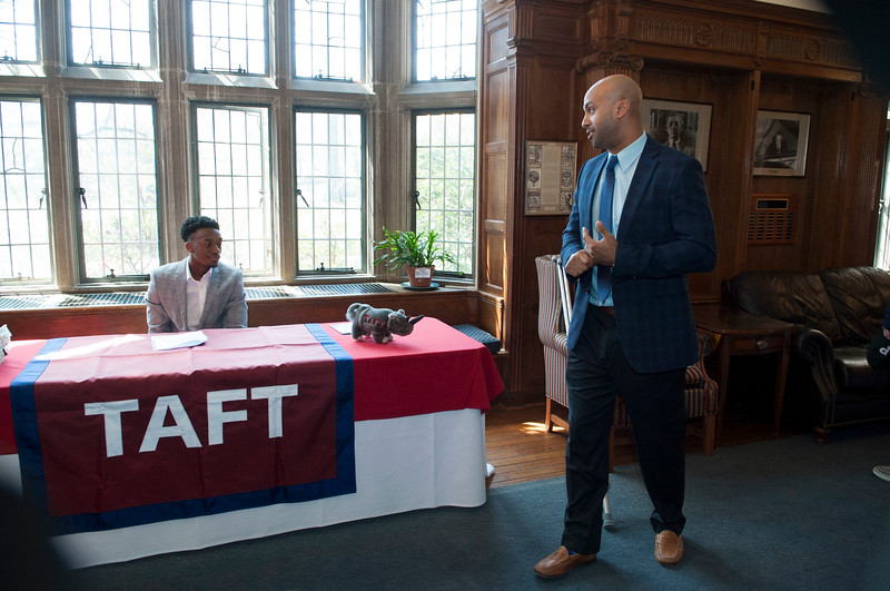 Athletes sign Letters of Intent to play college basketball