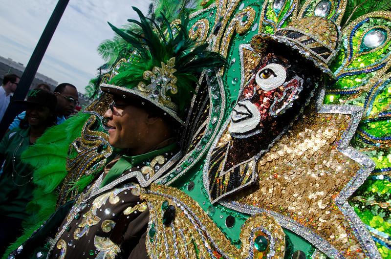 New Orleans Mardi Gras 1 of 2  2-12