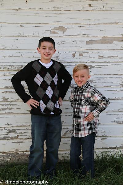 Keegan and Marcus