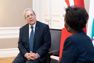 SEM Othman JERANDI - Ministre des Affaires étrangères de la Tunisie - Paris