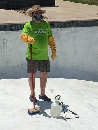Repainting Pool
