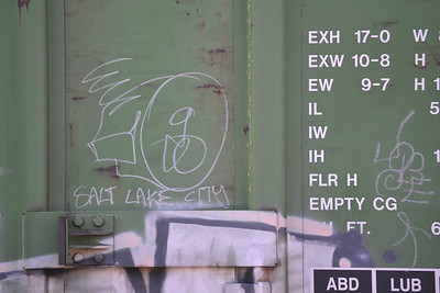 Rail Car Graffiti
