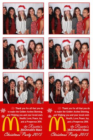 McDonald's Maui Christmas Party 2015