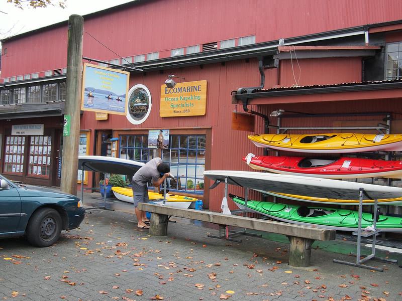 Oct. 19/13 - Shops on Granville Island