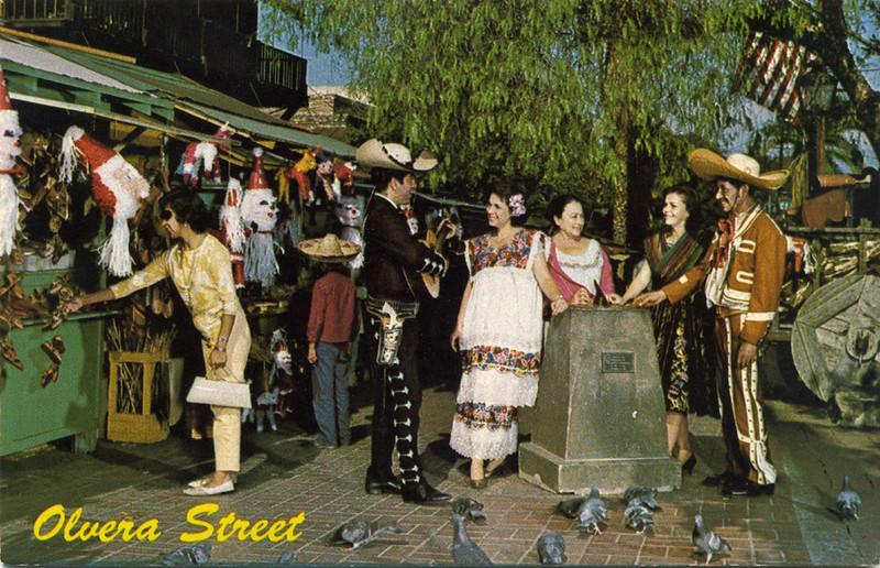 Olvera Street Historic Scene