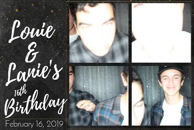 Louie & Lanie's 16th Birthday