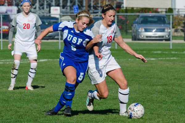 10/27/12 Women's Soccer vs. USF