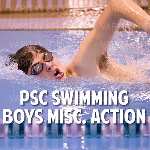 PSC Boys Swimming Misc Action