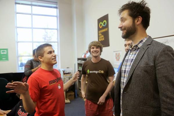 Reddit Co-Founder Alexis Ohanian Startup Shell Visit